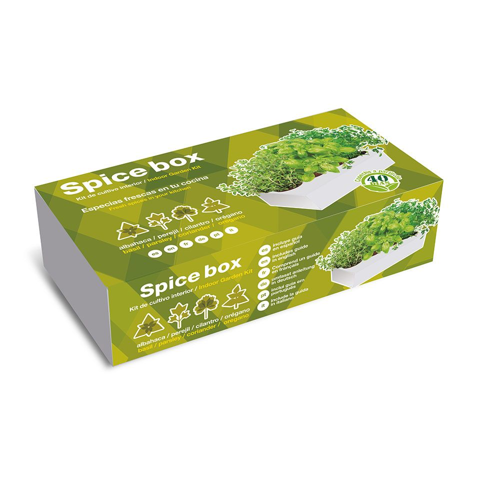 Caja de Cultivo Spice Box Especies Aromáticas